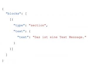 Slack Datenformat
