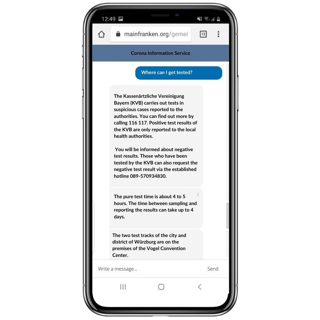 Der BOTfriends Corona Chatbot informiert über die neuesten Corona Auflagen