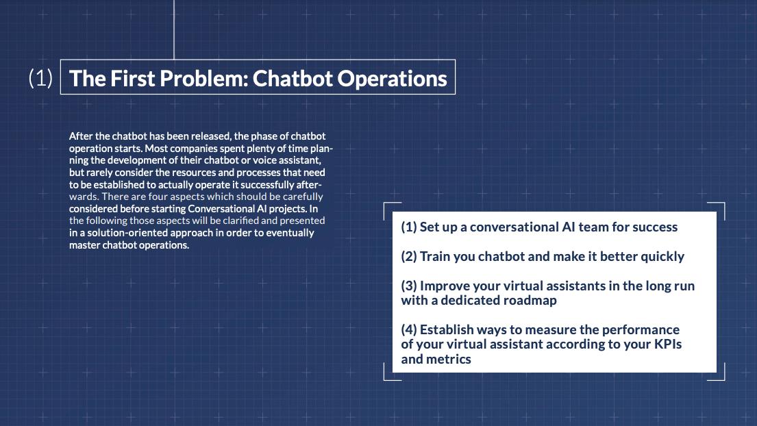 4 Maßnahmen für einen erfolgreichen Chatbot