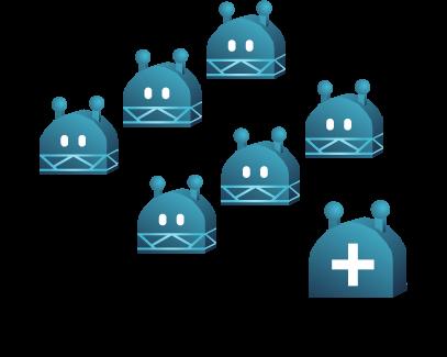 Mehrere Voice und Chatbots