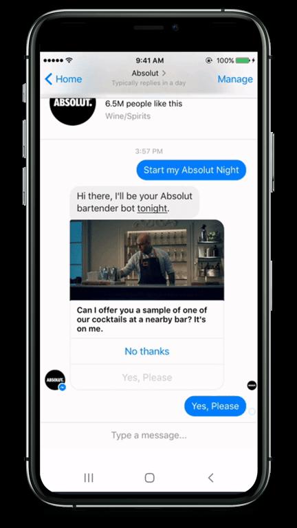 Der Chatbot bietet einen Coupon an