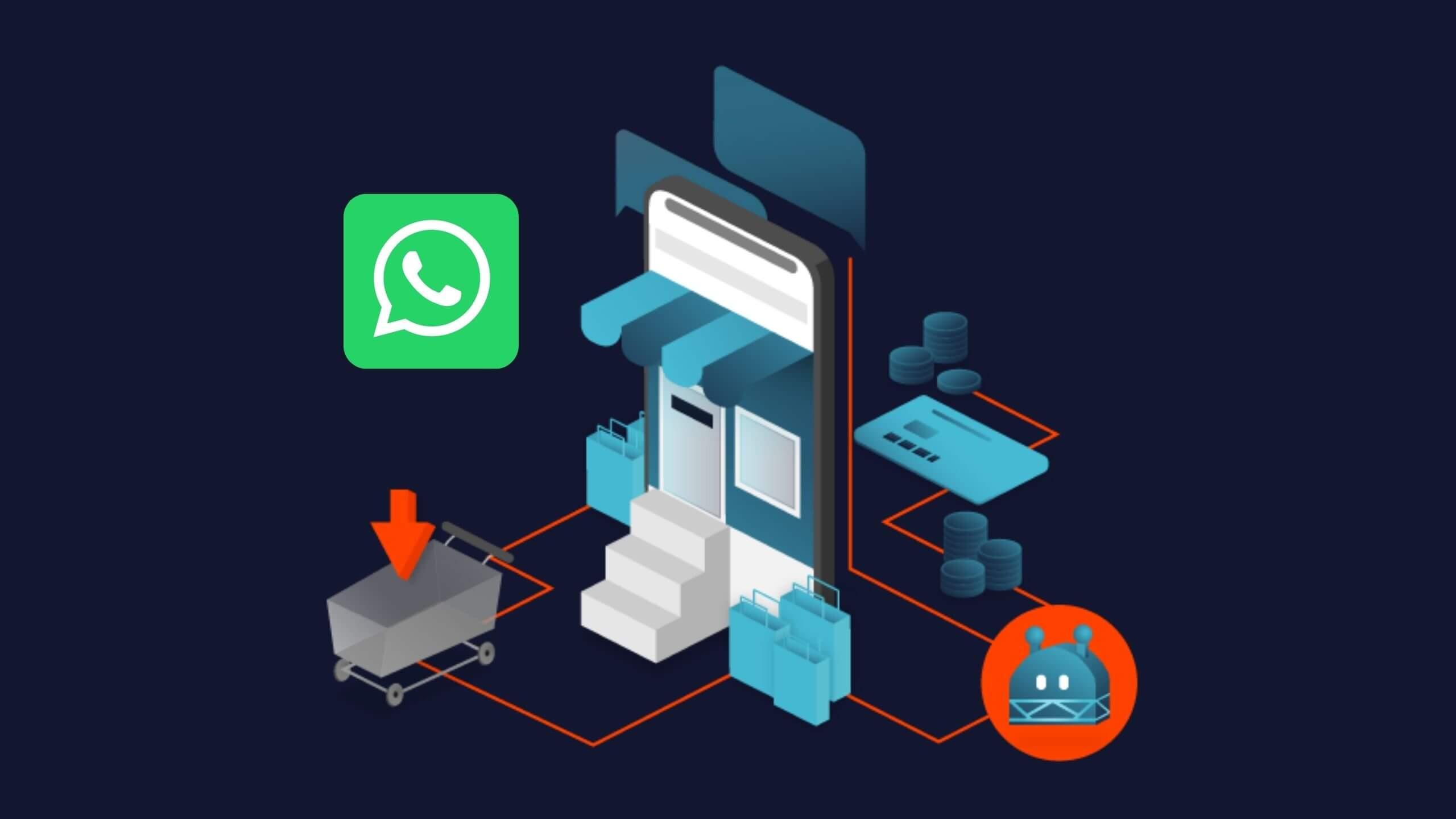 Vermarkten und verkaufen über WhatsApp mit Chatbots